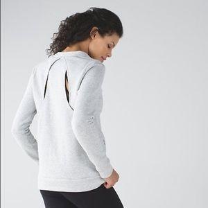 Lululemon Go Endeavor Long Sleeve Gray Pullover